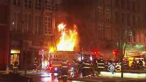 1 Year Later, Officials Rule Old City Fire Arson [Video]