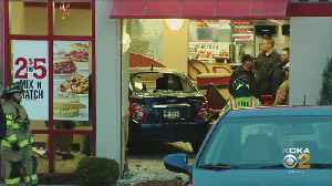 Vehicle Plows Through Window Of West Mifflin Arby's [Video]