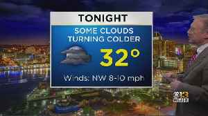 Bob Turk Has The Final Look At Your Friday Evening Forecast [Video]