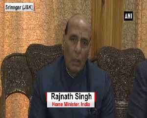 Civilian movement will be stopped while passing security forces convoy says Rajnath Singh [Video]