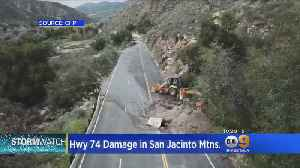 Storm Causes Damage In San Jacinto Mountains [Video]