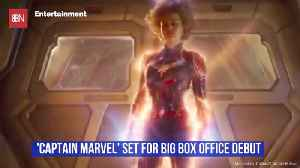 A Big Box Office Debut For 'Captain Marvel' [Video]