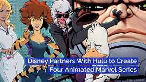 Disney And Hulu Make Four Marvel Animated Series [Video]