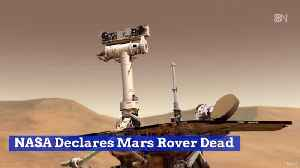 The Amazing Mars Rover Has Died [Video]