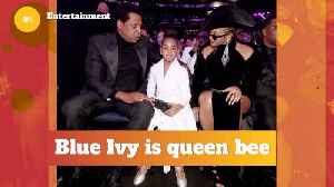 Blue Ivy Is Queen B In The Beyonce and Jay-Z House [Video]