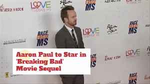 News video: Aaron Paul Will Be In 'Breaking Bad' Sequel