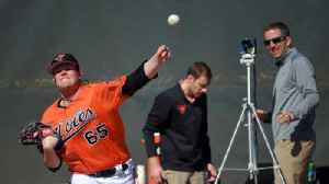 Baltimore Orioles using high speed cameras to film pitchers [Video]