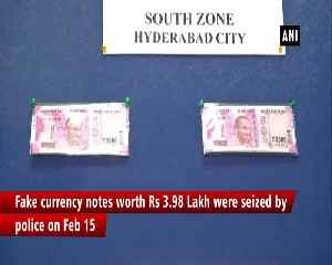 Fake currency notes worth Rs 3.98 Lakh seized in Hyderabad [Video]