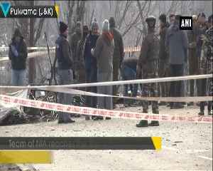 NIA team reaches attack site at JKs Pulwama for further investigation [Video]
