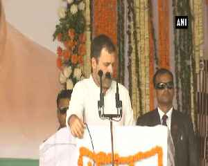 Rahul Gandhi promises farmers of returning their lands given for Tata projects in Chhattisgarh [Video]