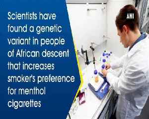 Scientists find genetic vulnerability to menthol cigarette use [Video]