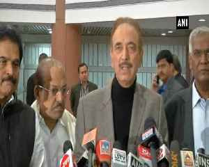 We stand with govt for unity, security of the nation Ghulam Nabi Azad [Video]