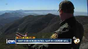What does Border Patrol want in a border wall? [Video]