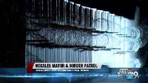 Mayor of Nogales on border wire [Video]