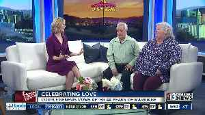 Couple renews vows on Valentine's Day after 44 years married [Video]