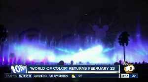 World of Color returns to Disney California Adventure [Video]