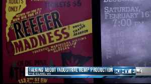 Talking about industrial hemp production [Video]