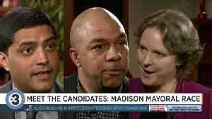 Madison mayoral candidates answer questions about flooding, police, housing [Video]