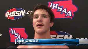 Friday's 6 p.m. state wrestling highlights [Video]