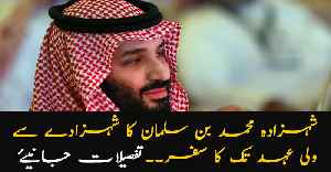 Have a look at Prince Mohammad Bin Salman's journey to being the Saudi crown prince [Video]