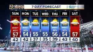 Colder weather moving into the Valley [Video]