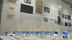 Historic Larimer Square wants public input on future development in downtown Denver [Video]