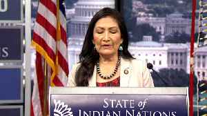 Rep. Deb Haaland Calls for More Resources to End Violence Against Indigenous Women [Video]