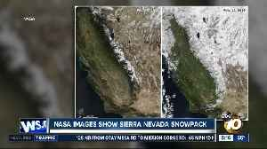 Nasa images show Sierra Nevada snowpack [Video]