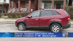 Police: Suspect Surrenders After SWAT Situation In Mt. Washington [Video]