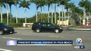 President Trump spending the weekend on Palm Beach [Video]