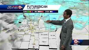 Light snow, sleet move in for Saturday night [Video]