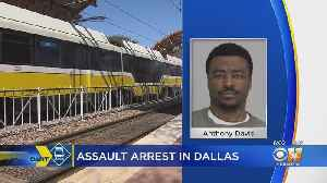 Man Arrested On Assault Charges For Pushing Man Into Train Tracks [Video]