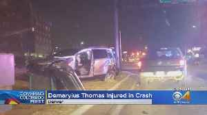 Former Bronco Demaryius Thomas Rolls Car In Denver [Video]