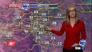 Snow moves east, more snow for Denver tomorrow night [Video]