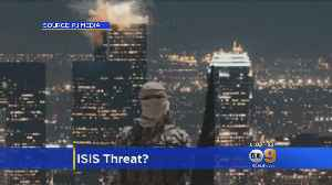 Terror Image Sparks Security Concerns In Downtown LA [Video]