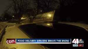 Snow-filled weekend presents challenge for delivery drivers [Video]