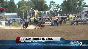 A family's first rodeo [Video]