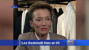 Jackie Kennedy's Younger Sister -- Socialite, Princess Lee Radziwill -- Dies At 85 [Video]