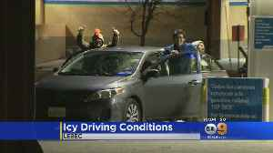 Drivers Finding Ice More Of A Problem Than Snow On The Grapevine [Video]