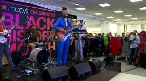 WEB EXCLUSIVE: Fantastic Negrito Shares Personal Family Story At Macy's Black History Event [Video]