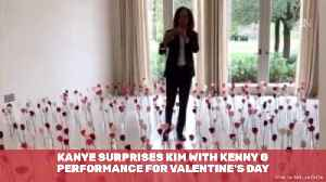 Kenny G Performs For Kim Kardashian On Valentines Day [Video]