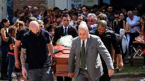 Funeral in Argentina for Premiership football player Emiliano Sala [Video]