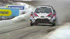 Tanak wins in Sweden to lead WRC championship [Video]