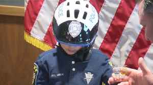 Six-Year-Old With Health Issues Sworn In As Nebraska Police Officer [Video]