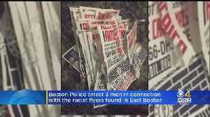 Men Arrested In East Boston Are Connected To White Supremacy Posters [Video]
