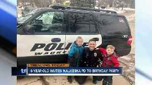Waukesha Police called to 6-year-old's birthday party [Video]