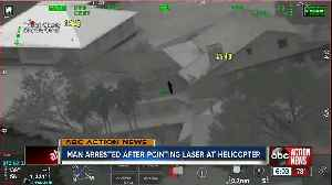 Clearwater man faces felony charge after pointing laser at airborne sheriff's helicopter [Video]