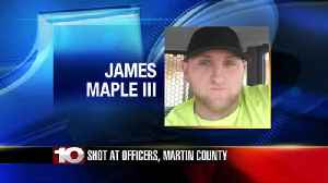 Martin county suspect arrested after shooting at officer [Video]