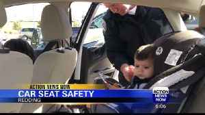 CHP offers car seat check in Redding [Video]