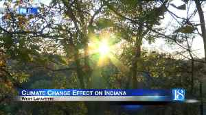 Purdue climate change team looks at how climate change will impact Indiana [Video]